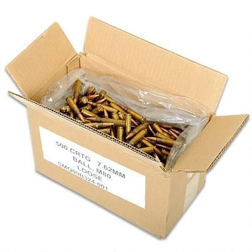 Federal XM80  308 7 62x51 149gr FMJ Loose Pack 500 Rnd