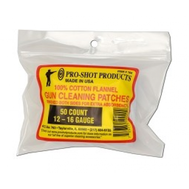 Pro-Shot Products Cleaning Patches 12GA