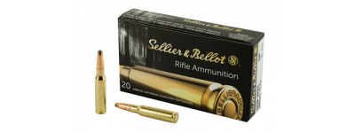 Sellier and Bellot 308 Winchester 180gr soft point